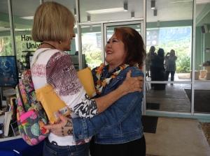 Lois Ann with Susan Scott